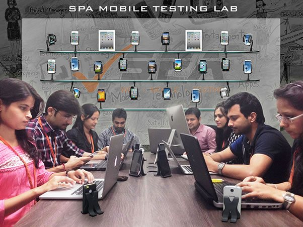 SPA Mobile App Testing Lab